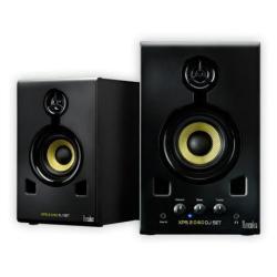Haut-parleurs Hercules XPS 2.0 60 DJ Set - Haut-parleurs - pour PC - 30 Watt (Totale) - 2 voies