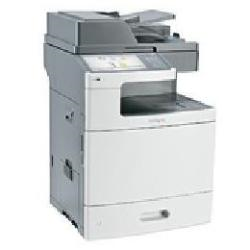 Imprimante laser multifonction Lexmark X792de - Imprimante multifonctions - couleur - laser - 216 x 355 mm (original) - A4/Legal (support) - jusqu'� 47 ppm (copie) - jusqu'� 47 ppm (impression) - 650 feuilles - 33.6 Kbits/s - USB 2.0, Gigabit LAN, h�te USB