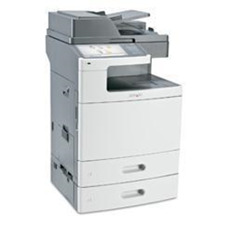 Imprimante laser multifonction Lexmark X792dte - Imprimante multifonctions - couleur - laser - 216 x 355 mm (original) - A4/Legal (support) - jusqu'� 47 ppm (copie) - jusqu'� 47 ppm (impression) - 1750 feuilles - 33.6 Kbits/s - USB 2.0, Gigabit LAN, h�te USB