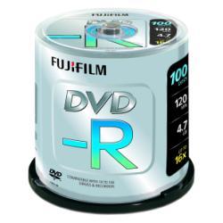 FUJIFILM - 100 x DVD-R - 4.7 Go ( 120 minutes ) 16x - spindle