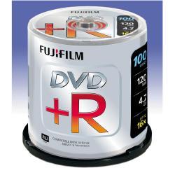 FUJIFILM - 100 x DVD+R - 4.7 Go ( 120 minutes ) 16x - spindle