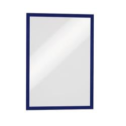 DURABLE DURAFRAME - Porte-document - pour A3 - bleu foncé (pack de 5)