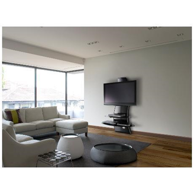 Meliconi Ghost Design 2000 Supporto Per Tv Lcd Al Plasma.Ghost Design 2000 Nero G Meliconi Monclick 488064