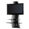 Support pour LCD Meliconi - GHOST DESIGN 2000 - PIED CARBONE