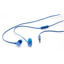 Verbatim Active Earphones with Microphone - �couteurs avec micro - intra-auriculaire - 3.5 mm plug - bleu