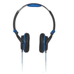 Meliconi MySound HP Smart - Casque - sur-oreille - 3.5 mm plug - noir, bleu