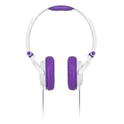 Meliconi MySound HP Smart - Casque - sur-oreille - 3.5 mm plug - blanc, violet