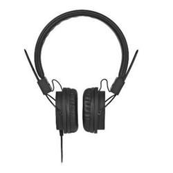 Meliconi MySound Speak STREET - Casque avec micro - sur-oreille - jack 3,5mm - noir