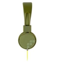 Meliconi MySound Speak STREET - Casque avec micro - sur-oreille - 3.5 mm plug - vert militaire