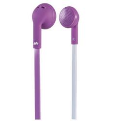Meliconi MySound Speak FLAT - Écouteurs avec micro - embout auriculaire - 3.5 mm plug - violet