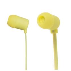 Meliconi MySound Speak FLUO - Écouteurs avec micro - intra-auriculaire - 3.5 mm plug - jaune