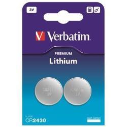 Pile Verbatim - Batterie 2 x CR2430 Li