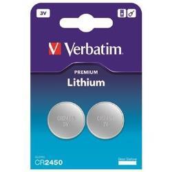 Pile Verbatim - Batterie 2 x CR2450 Li