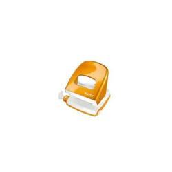 Perforatrice Leitz WOW NeXXt 5008 - Perforateur - 30 feuilles / 3 mm - métal - orange métallisé