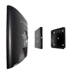 Support EXPONENT LCD SLIM MOUNT - Kit de montage ( plaque murale, patte de support ) pour structure plate - acier - noir - mural