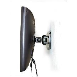 Support EXPONENT - Kit de montage ( bras prolongateur ) pour structure plate - acier - noir - mural
