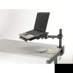Support Exponent Notebook Arm - Ordinateur portable avec plateau - noir