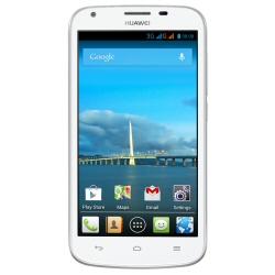 """Smartphone Huawei Ascend Y600 - Smartphone - double SIM - 3G - 4 Go - microSDHC slot - GSM - 5"""" - 854 x 480 pixels - 5 MP (caméra avant de 0,3 mégapixels) - Android - blanc"""