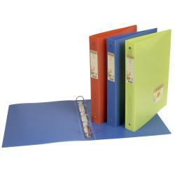Boîte à archive Exacompta Forever - Classeur à anneaux - 40 mm - A4 Maxi, 297 x 242 mm - pour 225 feuilles - couleurs assorties