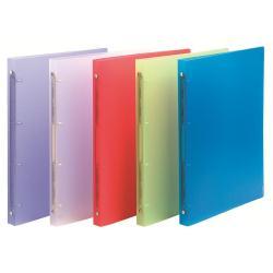Boîte à archive Exacompta Chromaline - Classeur à anneaux - 40 mm - A4 Maxi - pour 225 feuilles - disponible dans différentes couleurs
