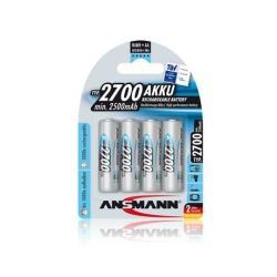 Pile ANSMANN Energy Mignon - Batterie 4 x AA NiMH 2700 mAh
