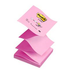 Post-it Post-it Z-Notes R-330-NAP - Notes - 76 x 76 mm - 1200 feuilles (12 x 100) - rose, rose pastel