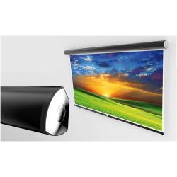 Écran pour vidéoprojecteur SOPAR Lorenzo 4:3 - Écran de projection - montable au plafond, montable sur mur - motorisé - 101 po (257 cm) - 4:3 - Shield - noir