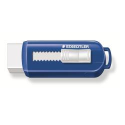 STAEDTLER - Gomme - blanc - étui bleu