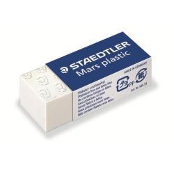 STAEDTLER Mars plastic - Gomme - 4 x 1.9 x 1.3 cm - polypropylène
