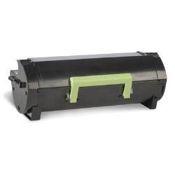 Collecteur toner usagé Lexmark 522H - À rendement élevé - noir - originale - cartouche de toner LCCP, LRP - pour Lexmark MS810, MS811, MS812