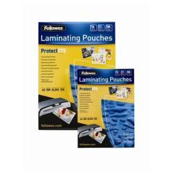 Accessoire plastifieuses Fellowes Laminating Pouches Protect 175 Micron - 175 microns - pack de 100 - brillant - transparent - A3 (297 x 420 mm) pochettes plastifiées