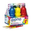 Tempera Giotto - SCHOOLPACK TEMPERA 500ml x 6