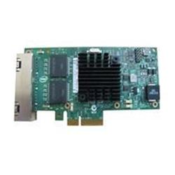 Adaptateur pour réseaux Intel I350 QP - Adaptateur réseau - PCIe - Gigabit Ethernet x 4 - pour PowerEdge R220, R230, R320, R330, R530, R630, R730, R930, T130, T320, T330, T430, T630