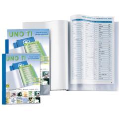 Boîte à archive SEI UNO TI - Porte document personnalisable - 120 pochettes - A4 - bleu