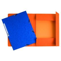 Porte-documents Exacompta Nature Future - Chemise à 3 rabats - A4 - pour 250 feuilles - couleurs assorties