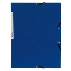 Porte-documents Exacompta Nature Future - Chemise à 3 rabats - A4 - pour 250 feuilles - bleu