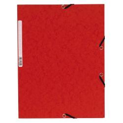 Porte-documents Exacompta Nature Future - Chemise à 3 rabats - A4 - pour 250 feuilles - rouge