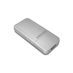 Disque dur interne Freecom mSSD - Disque SSD - 256 Go - externe ( portable ) - USB 3.0 - argent aluminium