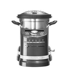 Robot de cuisine KitchenAid Artisan 5KCF0103EMS - Robot multi-fonctions - 1500 Watt - médaille en argent