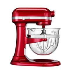 Robot de cuisine KitchenAid Artisan 5KSM6521XECA - Robot pâtissier - 500 Watt - rouge pomme d'amour