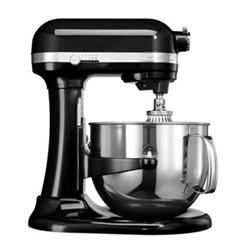 Robot de cuisine Kitchenaid Artisan 5KSM7580XEOB Bowl-Lift - Robot multi-fonctions - 16 tasse - 500 Watt - noir onyx