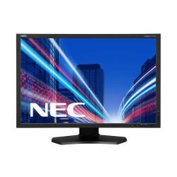 "Écran LED NEC MultiSync P242W - Écran LED - 24.1"" (24.1"" visualisable) - 1920 x 1200 - IPS - 350 cd/m² - 1000:1 - 8 ms - HDMI, DVI-D, VGA, DisplayPort - noir"