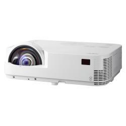 Vidéoprojecteur NEC M302WS - Projecteur DLP - 3D - 3000 ANSI lumens - WXGA (1280 x 800) - 16:10 - HD 720p - Objectif fixe de courte portée - LAN