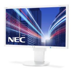 "Écran LED NEC MultiSync EA234WMi - Écran LED - 23"" (23"" visualisable) - 1920 x 1080 Full HD (1080p) - IPS - 250 cd/m² - 1000:1 - 6 ms - HDMI, DVI-D, VGA, DisplayPort - haut-parleurs - blanc"