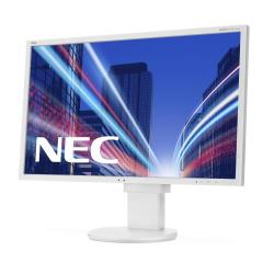 "Écran LED NEC MultiSync EA273WMi - Écran LED - 27"" (27"" visualisable) - 1920 x 1080 Full HD (1080p) - IPS - 250 cd/m² - 1000:1 - 5 ms - HDMI, DVI-D, VGA, DisplayPort - haut-parleurs - blanc"