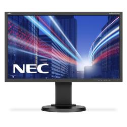 "Écran LED NEC MultiSync E243WMI-BK - Écran LED - 23.8"" (23.8"" visualisable) - 1920 x 1080 Full HD (1080p) - IPS - 250 cd/m² - 1000:1 - 6 ms - DVI-D, VGA, DisplayPort - noir"