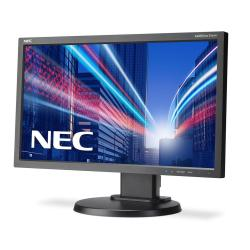"Écran LED NEC MultiSync E203Wi - Écran LED - 20"" - 1600 x 900 - IPS - 250 cd/m² - 1000:1 - 6 ms - DVI-D, VGA, DisplayPort - noir"