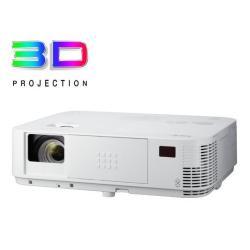 Vid�oprojecteur NEC M322H - Projecteur DLP - 3D - 3200 ANSI lumens - 1920 x 1080 - 16:9 - HD 1080p - LAN