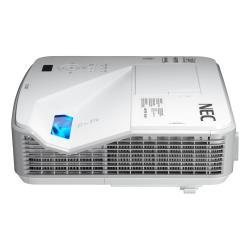 Vid�oprojecteur NEC U321H - Projecteur DLP - 3D - 3200 ANSI lumens - 1920 x 1080 - 16:9 - HD 1080p - Objectif fixe de port�e ultra courte