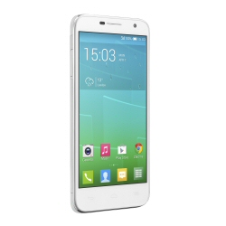 "Smartphone Alcatel One Touch Idol 2 Mini 6016D - Smartphone - double SIM - 3G - 8 Go - GSM - 4.5"" - 960 x 540 pixels - IPS - 8 MP - Android - blanc uni"